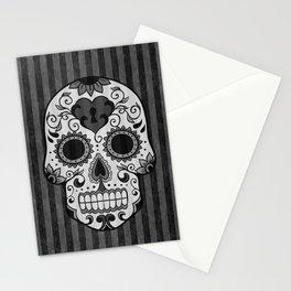 Día de los Muertos - Grey Stationery Cards