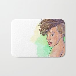 Be different be your own woman be unique 1 Bath Mat