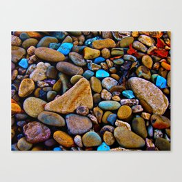 River Rock Canvas Print