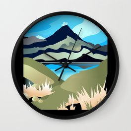Tama Lakes Magic Wall Clock