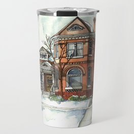 Victorian House in The Avenues Travel Mug