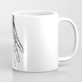 Cracked Arm - A3 ink illustration Coffee Mug