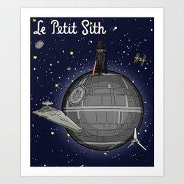 Le Petit Sith Art Print