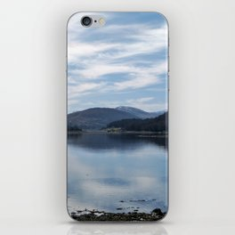 View over the Loch iPhone Skin