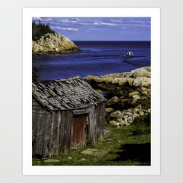 Herring Cove Art Print