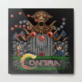 Contras Metal Print