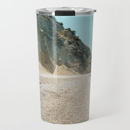 Greece beach Travel Mug
