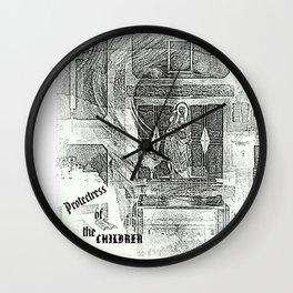 PROTECTRESS Wall Clock