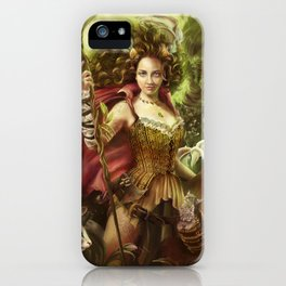 Jamie of the Jungle iPhone Case