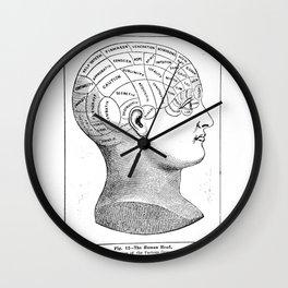 Phrenology2 Wall Clock