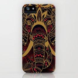 Rubino Zen Elephant Red iPhone Case