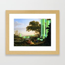 The Man Made Framed Art Print