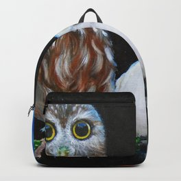 Wisdom Peace and Happiness Backpack