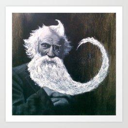 Beard Web Art Print