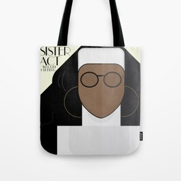 Sister Act, minimal Movie Poster, classic comedy film, funny, Whoopi Golberg, american cinema Tote Bag