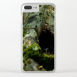 Hidden Home #1 Clear iPhone Case