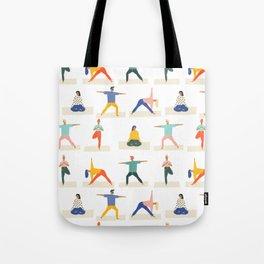 Yoga Pattern | Yoga Namaste Health Meditation Yogi Tote Bag