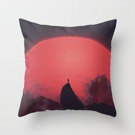 Abaddon Throw Pillow