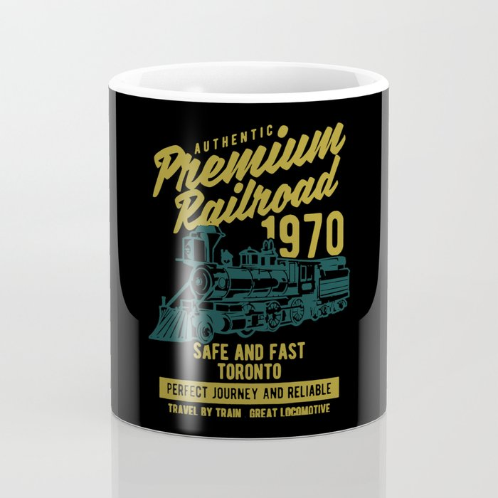 premium railroad Coffee Mug