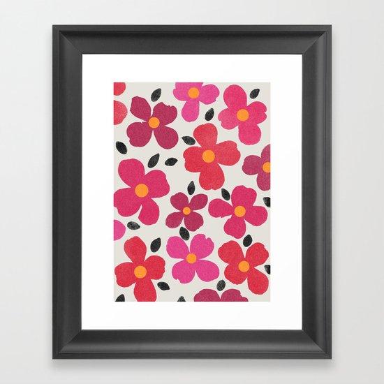 dogwood 4 Framed Art Print