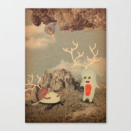 esseri della montagna Canvas Print