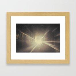 Why is Summer Mist Romantic and Autumn Mist just Sad? Framed Art Print