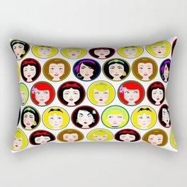 Cutie Princess Rectangular Pillow