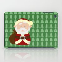 santa iPad Cases featuring Santa by Alapapaju