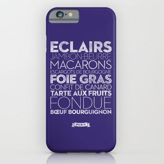 Paris — Delicious City Prints iPhone & iPod Case