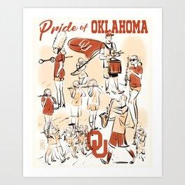 Pride of Oklahoma Art Print