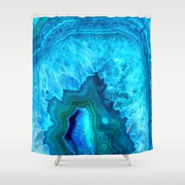 Crystal beauty Shower Curtain