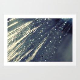 Rain Shower Art Print