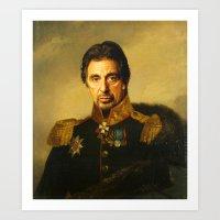 Al Pacino -replaceface Art Print