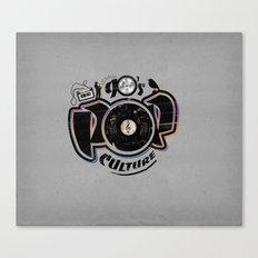 90's pop culture Canvas Print