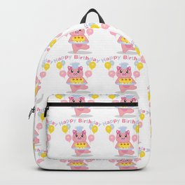 kawaii pig Backpack