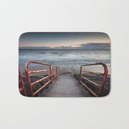Aberavon beach handrail Bath Mat