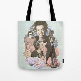 Harry Styles + Flowers Tote Bag