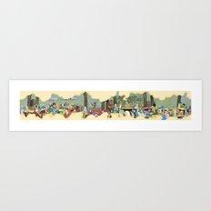 Sesame Art Print
