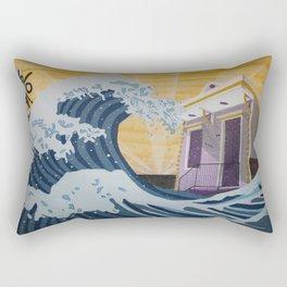 Through Hell & High Water Rectangular Pillow