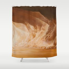 What a Lovely Day Shower Curtain