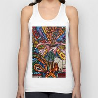 mother Tank Tops featuring Mother by Thom Whalen