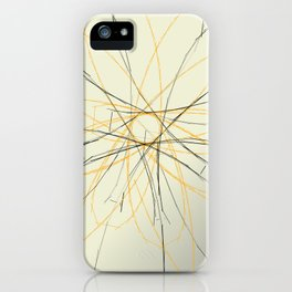 Incomplete Butterfly iPhone Case