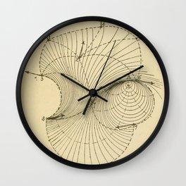 Fluid Dynamics Wall Clock
