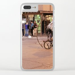 Performance Art on the Streets of Bucktown, Chicago 04 Clear iPhone Case
