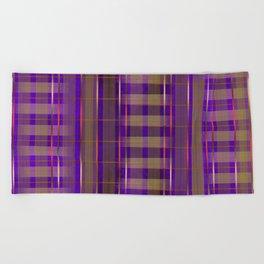 Kimono Alterations Beach Towel