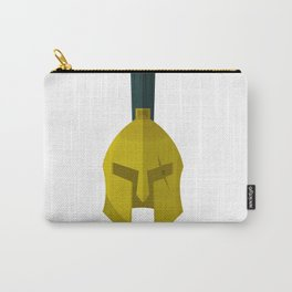 300 Leonidas' Helmet minimalist Poster Carry-All Pouch