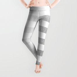 Simply Striped Moonlight Silver Leggings