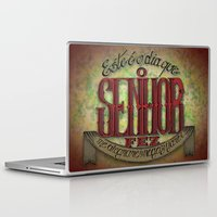 lettering Laptop & iPad Skins featuring Lettering by MarcosDevelop