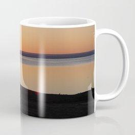 Hay River Sunset Coffee Mug