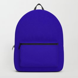 So dark Blue Backpack